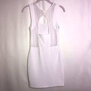 Color Story Sexy White Dress, Size M